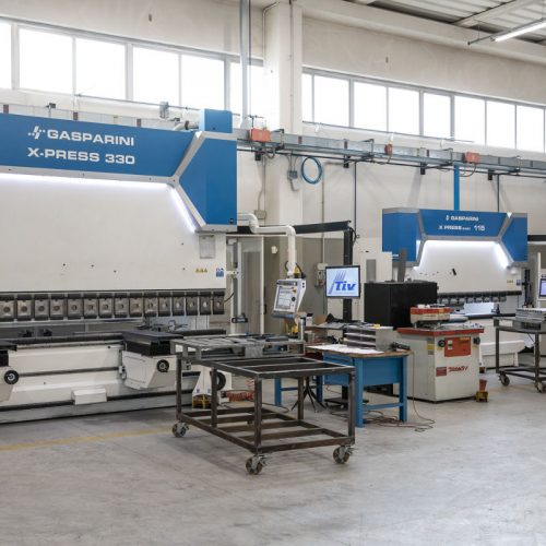 Gasparini bending machine